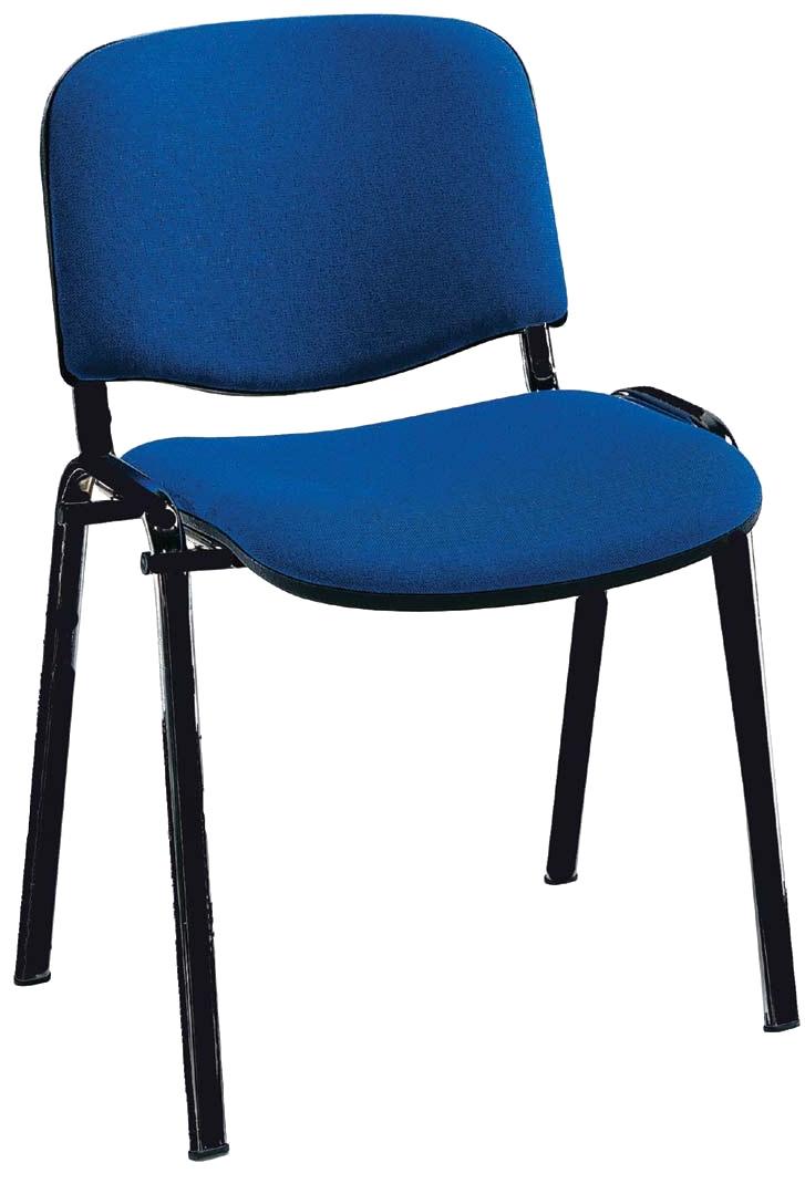 sedia fissa ufficio imbottita e rivestita 6001 2