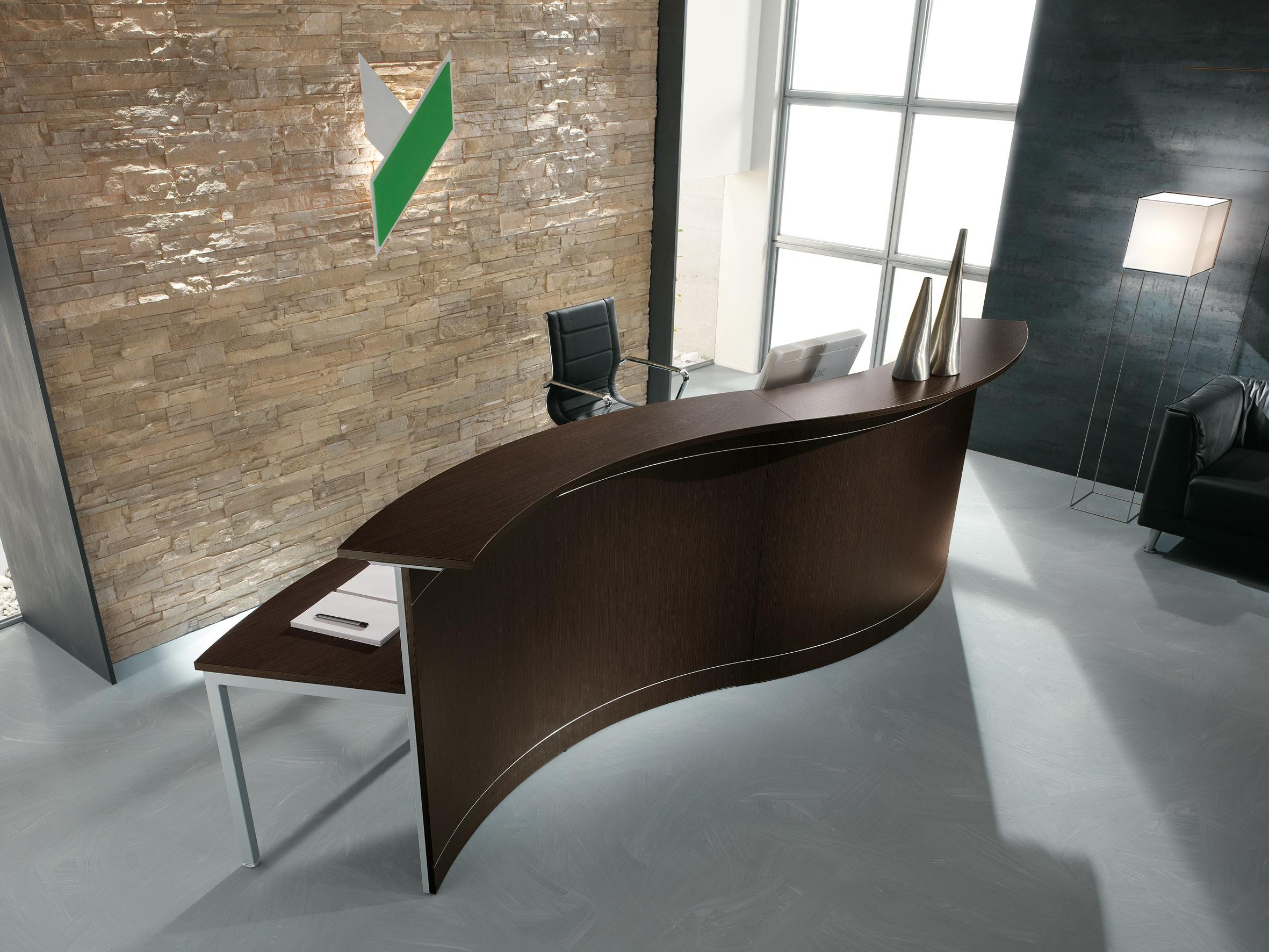 Reception ufficio ad onda dimensioni 4metri for Reception ufficio